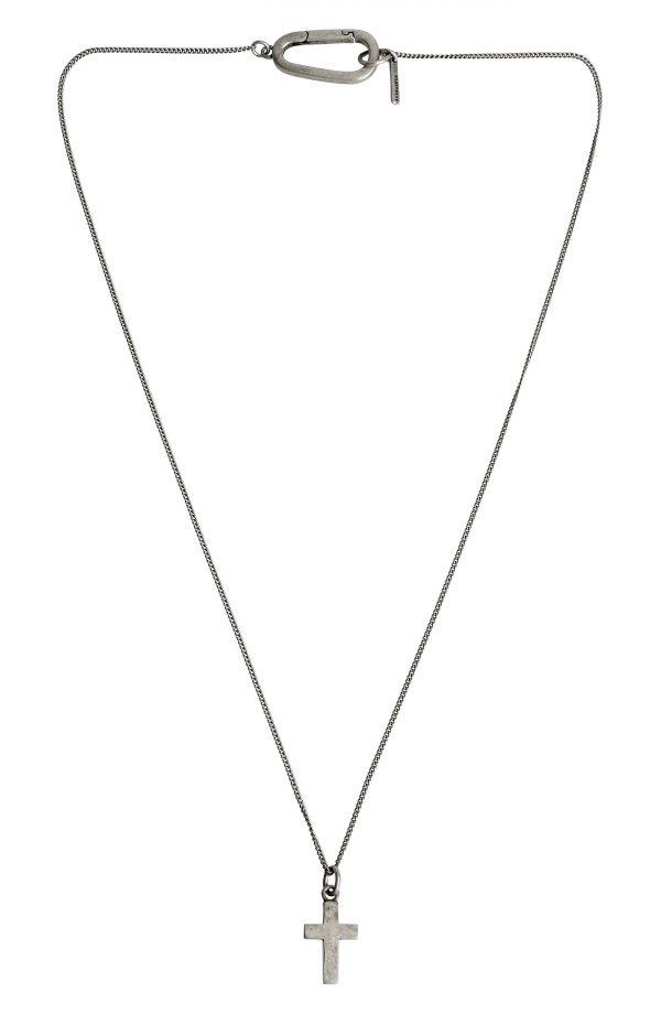 Allsaints Cross Pendant Necklace