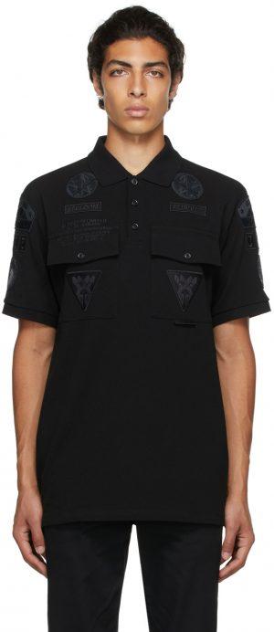 Burberry Black Badge Appliqué Polo