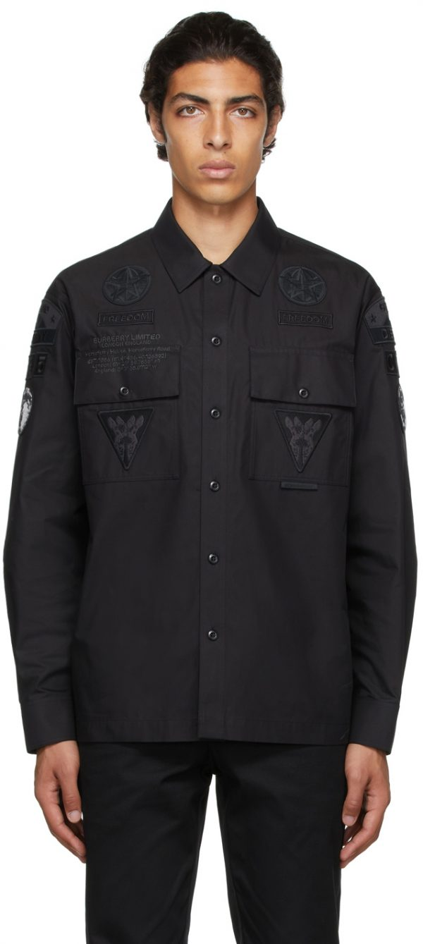 Burberry Black Badge Appliqué Shirt