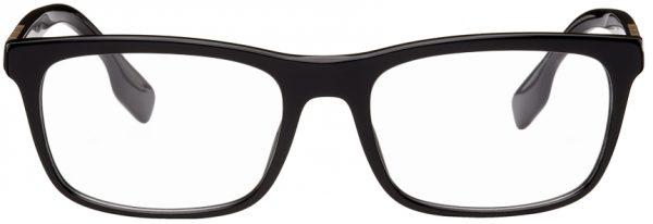 Burberry Black Rectangular Glasses
