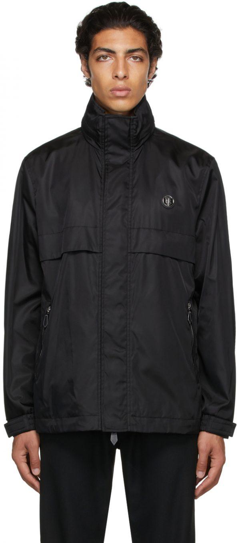 Burberry Black Recycled Nylon Hooded Jacket
