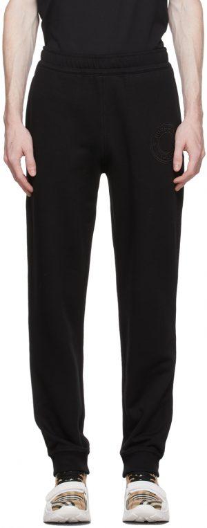 Burberry Black Rogan Lounge Pants