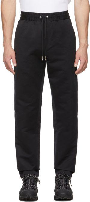 Burberry Black Silk Merrick Lounge Pants