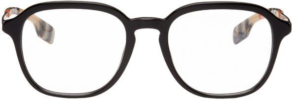 Burberry Black Square Glasses