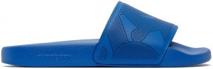 Burberry Blue Furley Slides