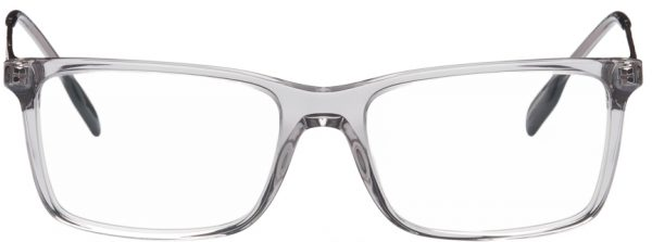 Burberry Grey Rectangular Glasses