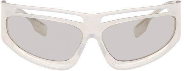 Burberry Off-White Eliot Sunglasses