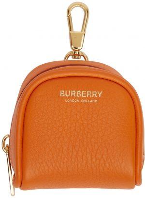 Burberry Orange Cube Bag Charm Keychain