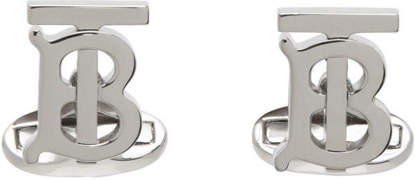 Burberry Silver TB Cufflinks