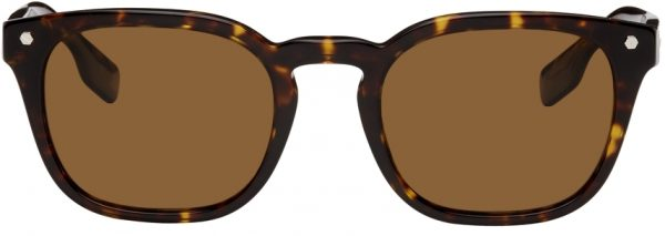 Burberry Tortoiseshell Square Sunglasses