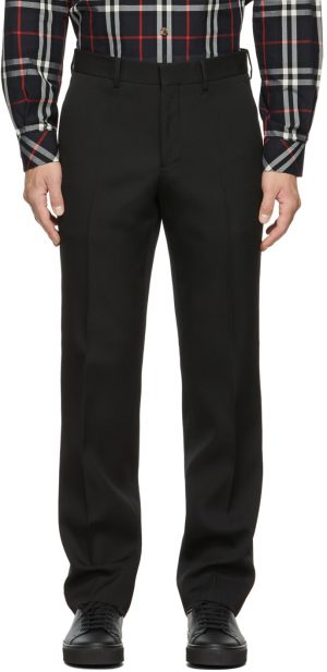 Burberry Wool Classic Straight Trousers