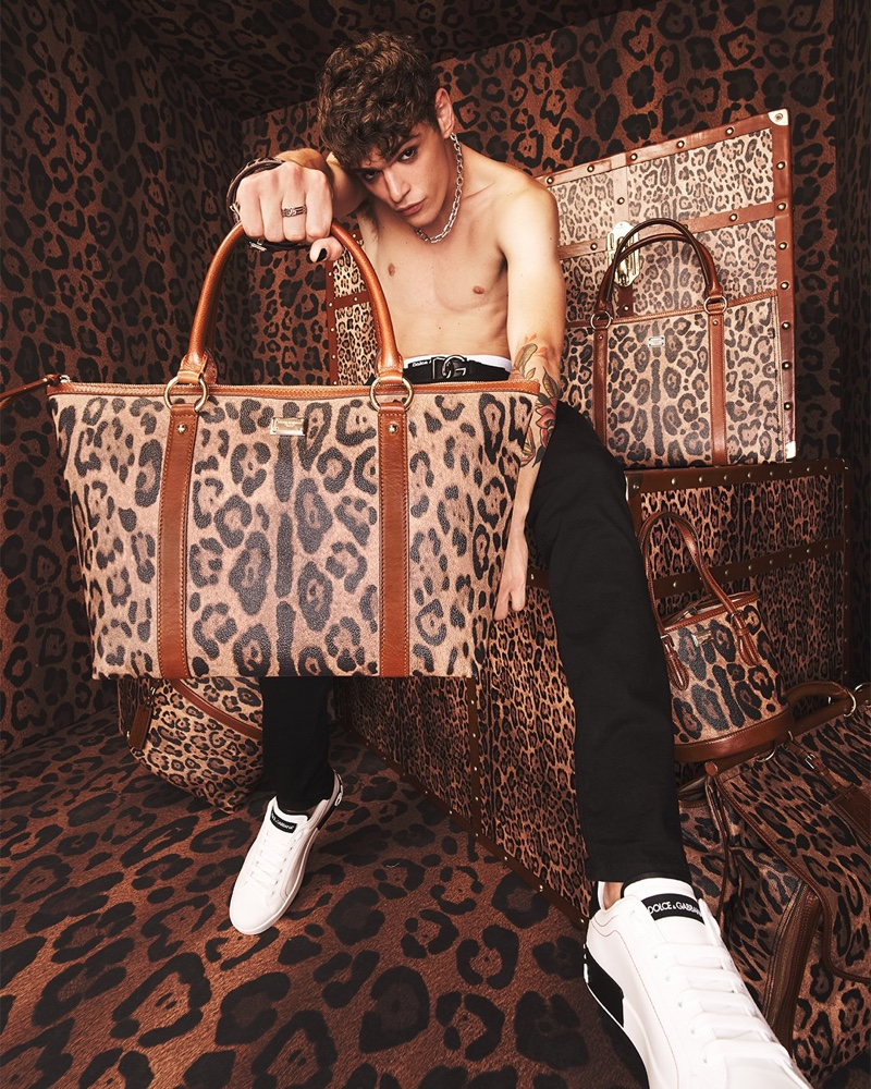 Dolce & Gabbana Revisits Leopard with Crespo Leo Collection