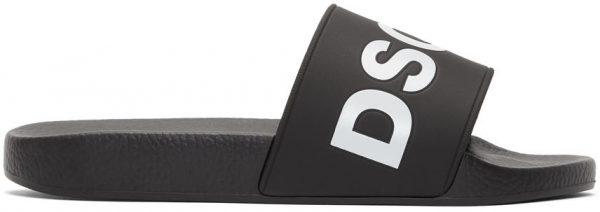 Dsquared2 Black Dune Slides