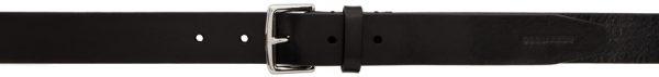 Dsquared2 Black Leather Simple Man Belt