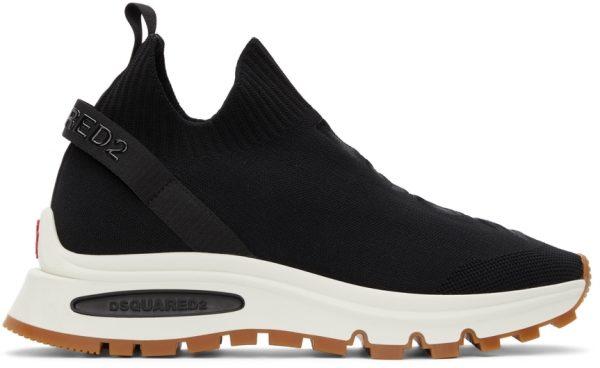 Dsquared2 Black Run DS2 Sock Sneakers