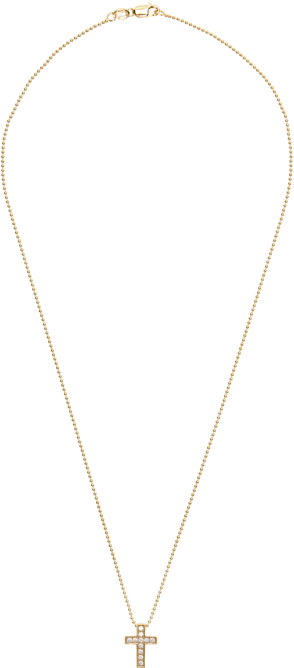 Dsquared2 Gold Cross Necklace