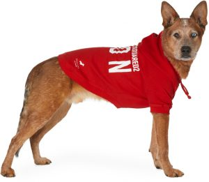 Dsquared2 Red Poldo Dog Couture Edition Icon Ottawa Hoodie