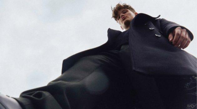 Edwin Lidén Kiejs Embraces a Dark Fall for King Magazine