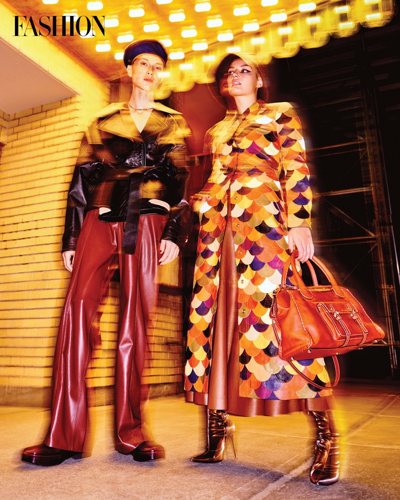 Émile Woon Explores the 'City Lights' with Fashion Magazine