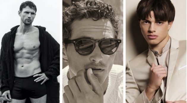 Week in Review: Guy Robinson for GQ France, Ollie Edwards for Brunello Cucinelli x Oliver Peoples collaboration, Nacho Perín for Harper's Bazaar Thailand Men.