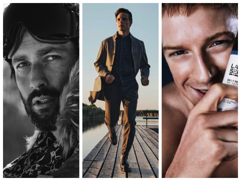 Fashionisto Week in Review: Noah Mills for VMAN, Julian Schneyder for Masculin Journal, Race Imboden for Lab Series