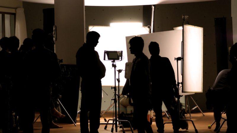 Filming Production Fashion Shoot