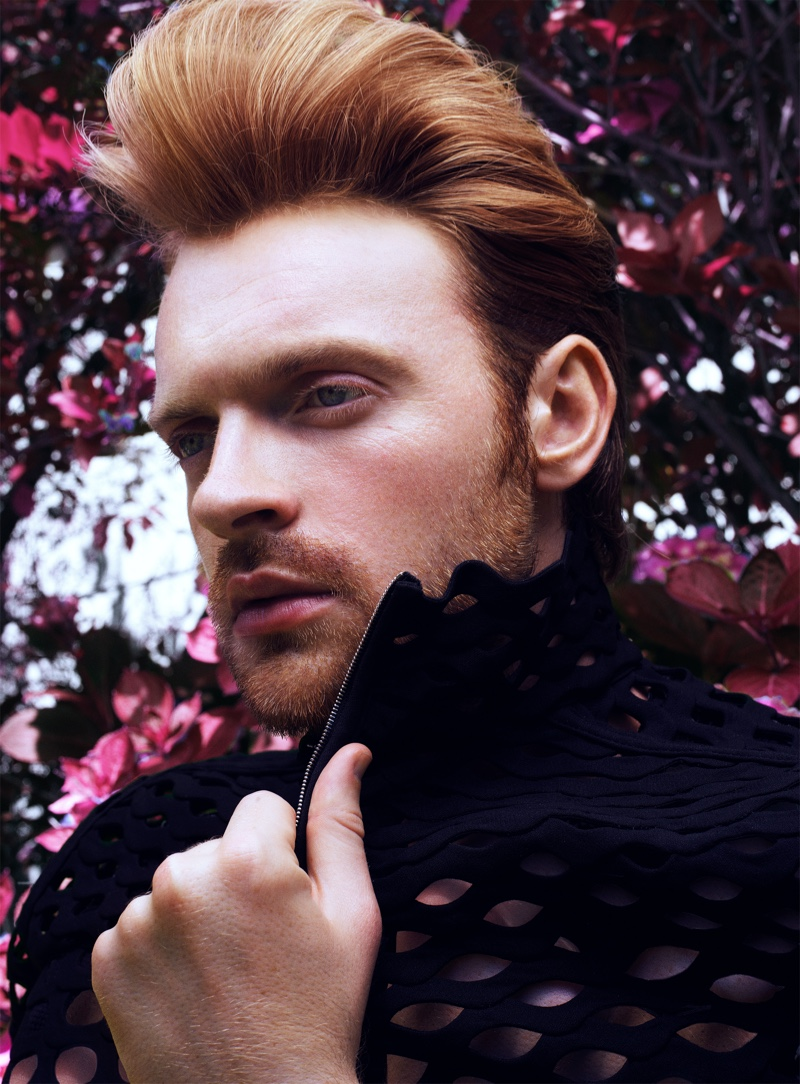 Ready for his close-up, Finneas wears Valentino for VMAN.