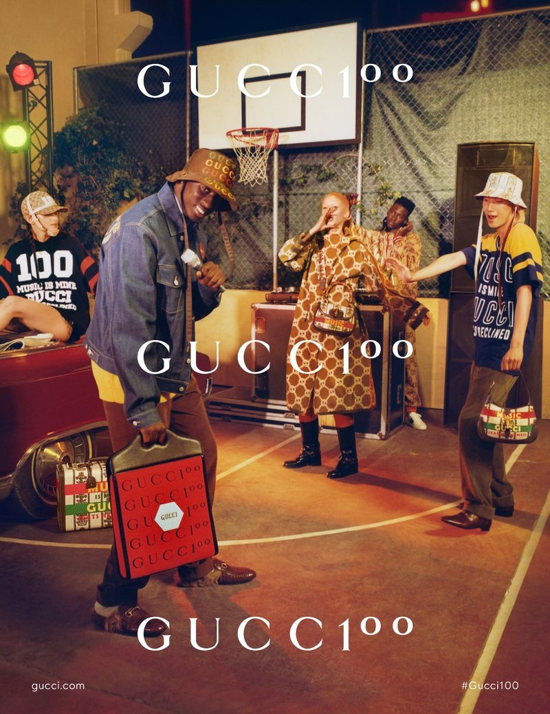 Explore Music & Style Throughout the Decades with Gucci 100 Campaign