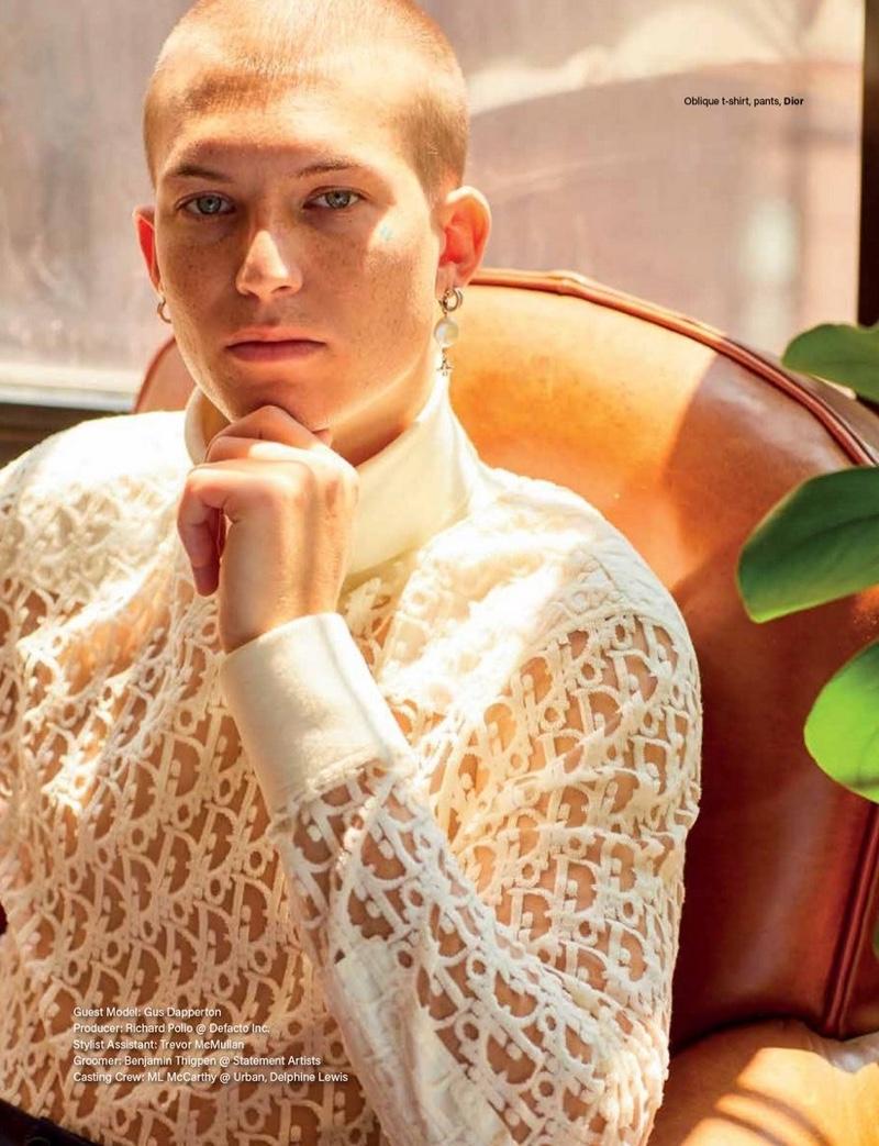Gus Dapperton Spends a 'Cozy Weekend' with Vogue Man Hong Kong