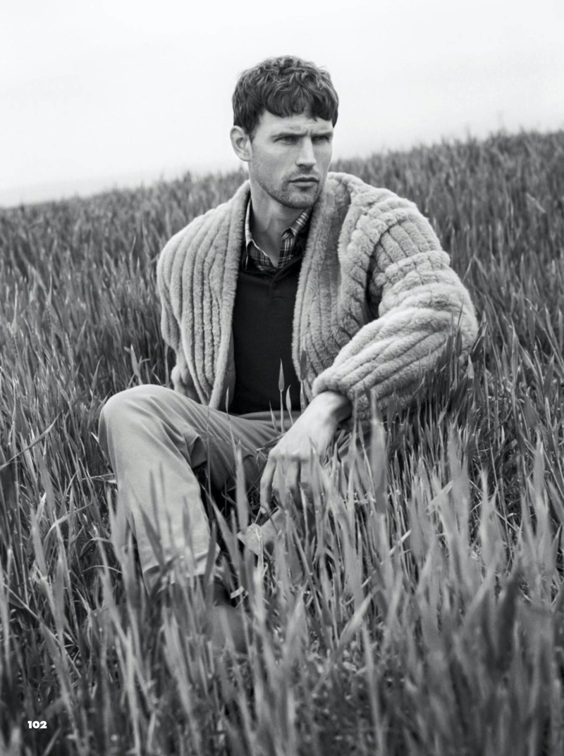 Guy Robinson Takes to Cornwall for GQ France