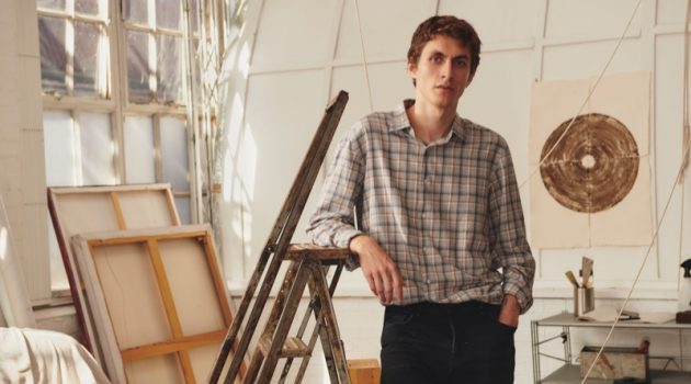 Portraits: Henry Kitcher Poses for Massimo Dutti