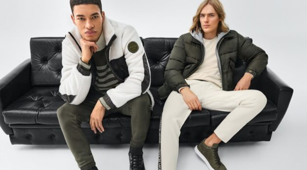 Ton & Raphael 'Get Connected' for JOOP! Fall '21 Campaign