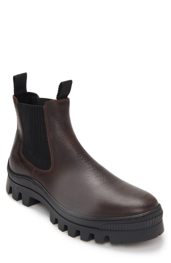Karl Lagerfeld Paris Chelsea Boot, Size 12 in Brown at Nordstrom