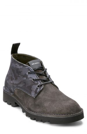 Karl Lagerfeld Paris Chukka Boot, Size 9 in Grey at Nordstrom