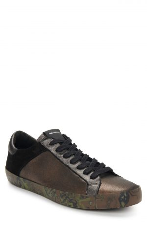 Karl Lagerfeld Paris Sneaker, Size 8 in Gold at Nordstrom