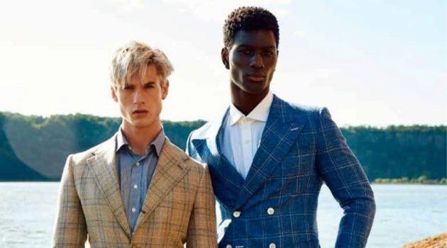 Gray & Joseph Head Outdoors for L'Officiel Hommes Ukraine