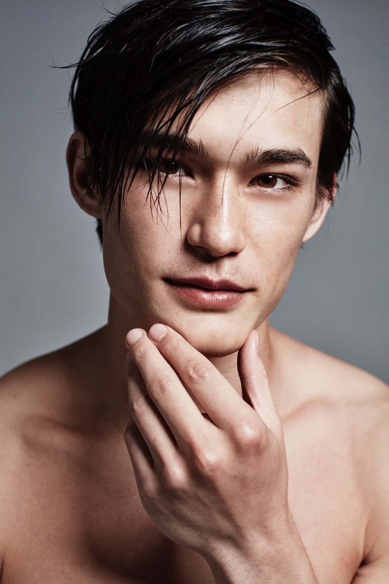 Possessing brawn and brains, Alex Schlab is the face of Lab Series' All-in-one products.