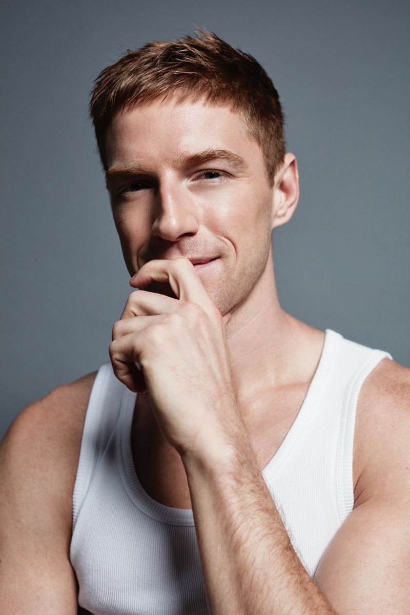 Lab Series enlists Race Imboden as the face of its Daily Rescue product line.