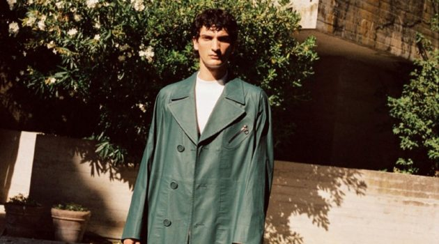 Luca Lemaire Sports Oversized Fashions for Esquire España