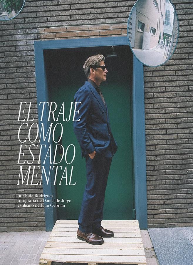 Mark Vanderloo Dons Fall Tailoring for El País Semanal