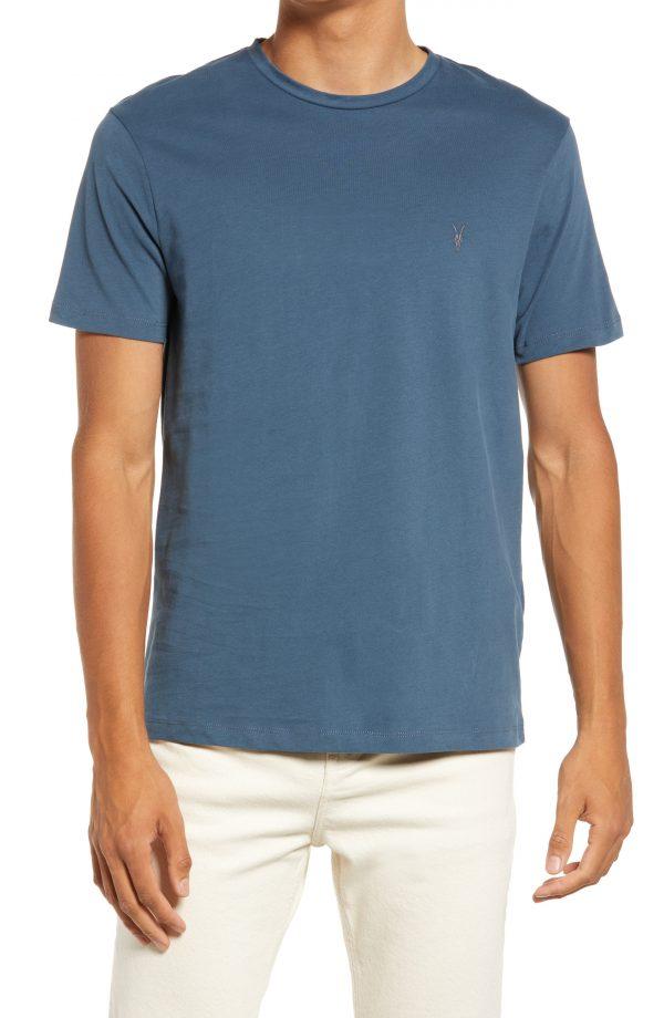 Men's Allsaints 3-Pack Brace Tonic Solid Crewneck T-Shirts, Size Medium - White