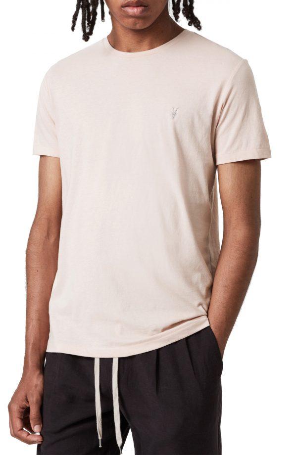 Men's Allsaints Brace Tonic Assorted 3-Pack Slim Fit Crewneck T-Shirt, Size XX-Large - White
