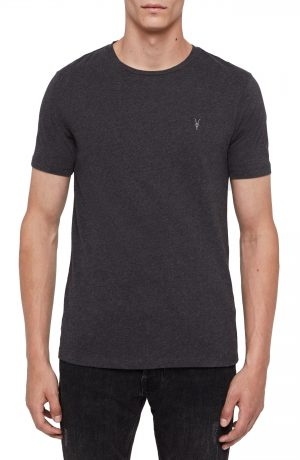 Men's Allsaints Brace Tonic Slim Fit Crewneck T-Shirt, Size Small - Grey