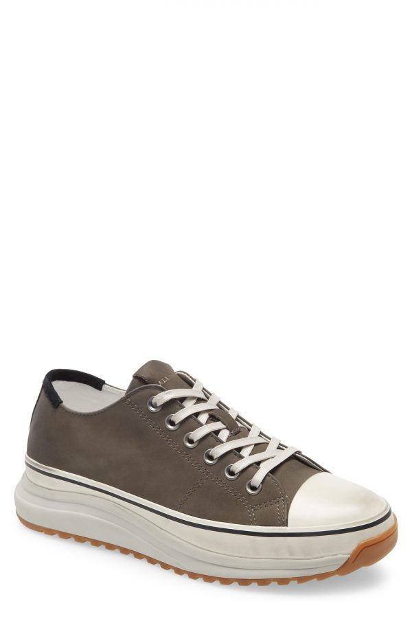 Men's Allsaints Brady Low Top Sneaker, Size 11 M - Grey
