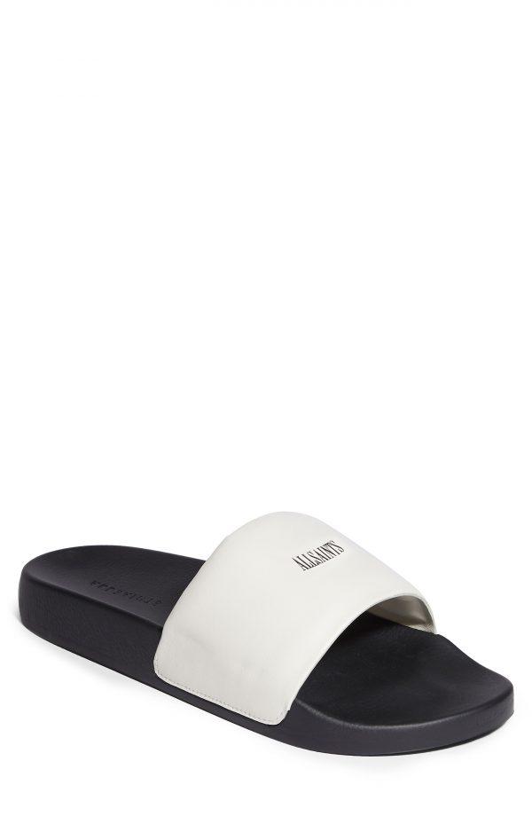 Men's Allsaints Carmel Slide Sandal, Size 7 M - White