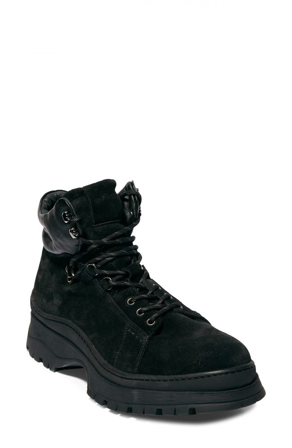 Men's Allsaints Donte Mid Boot, Size 13 M - Black