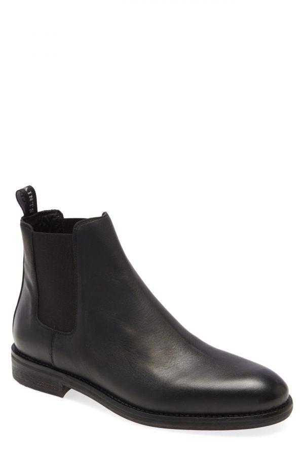 Men's Allsaints Harley Chelsea Boot, Size 10 M - Black