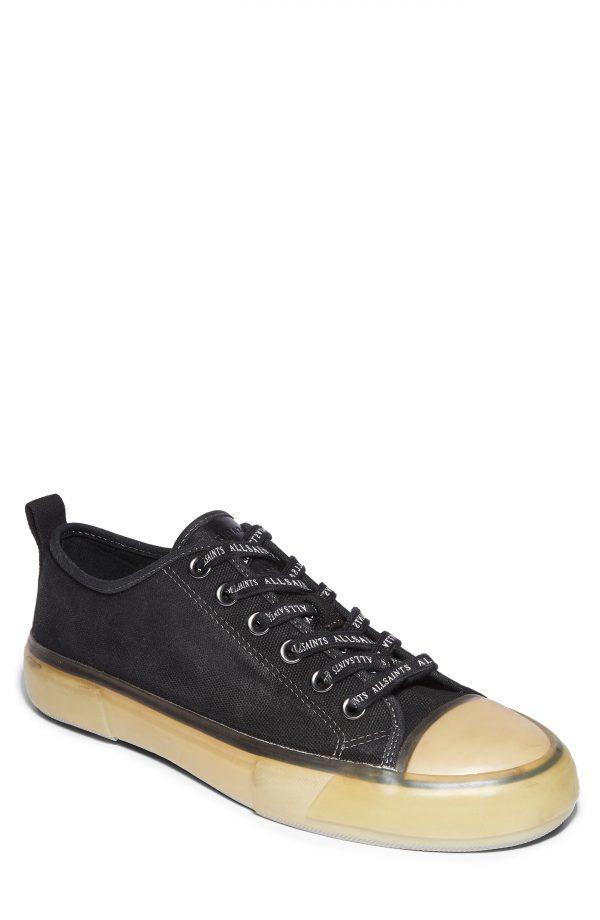 Men's Allsaints Jaxon Sneaker, Size 7 M - Black