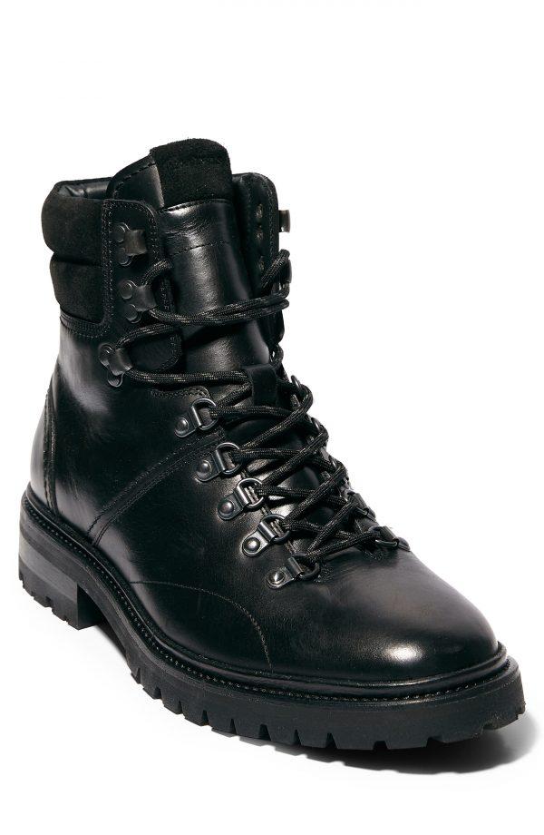 Men's Allsaints Jaxx Plain Toe Boot, Size 7 M - Black