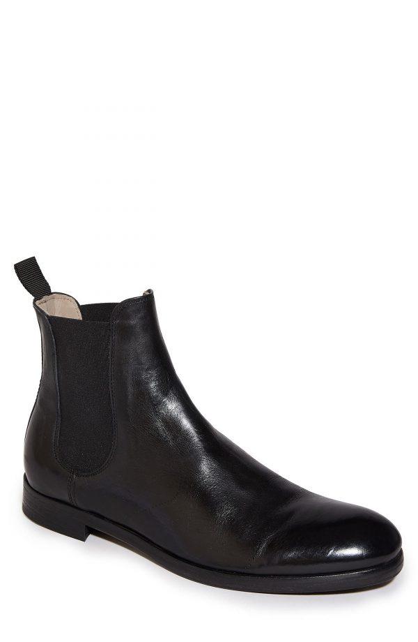 Men's Allsaints Jesiah Chelsea Boot, Size 10 M - Black